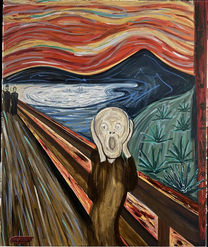 El grito de Munch en Jalisco.