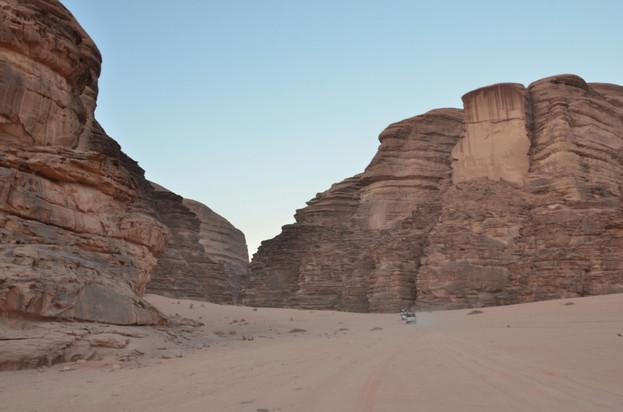 JORDANIA. Desierto de Wadi Rum.