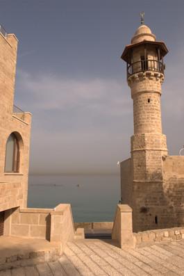 ISRAEL. Ciudad vieja de Jaffa. JUNTO AL MEDITERRÁNEO.