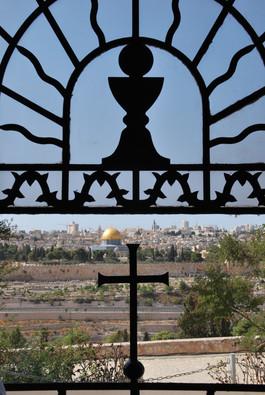 JERUSALÉN. DESDE LA IGLESIA DEL DOMINUS FLEVIT.