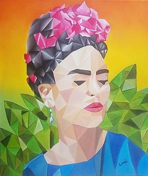 Las gladiolas de Frida