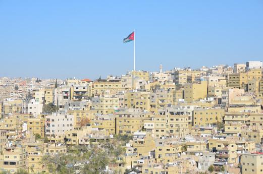 JORDANIA. Amman. VISTA DE LA CIUDAD.