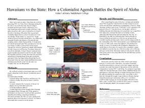 LaGrasta, Aidan - Hawaiians vs the State