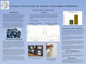 Crabbe, Cordray - An Analysis of Antioxi