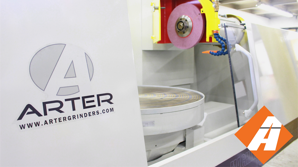 Arter Model E CNC Rotary Surface Grinder