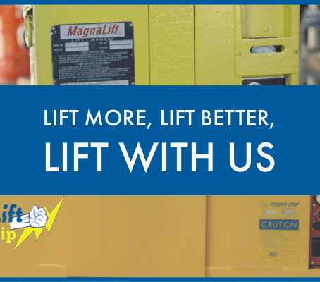 MagnaLift and Power-Grip, Lift More, Lift Better, Lift with Us