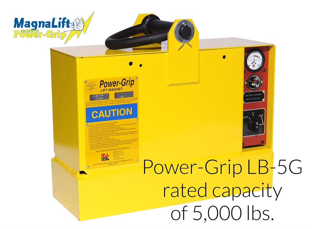 Power-Grip LB-5G lift magnet