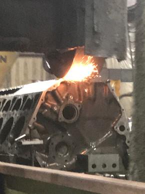12 Cylinder V-Block Engine