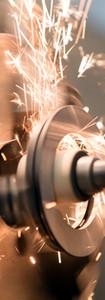 metalworking industry_ finishing metal working internal steel surface on lathe grinder mac