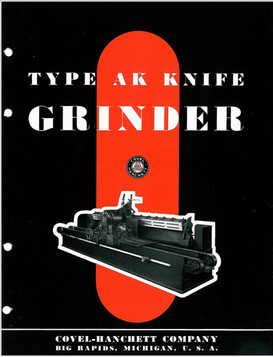 Covel-Hanchett Type AK Knife Grinder