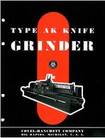Covel-Hanchett Type AK Knife Grinder