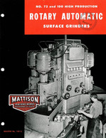 Mattison No. 72 and 100 Rotary Grinders