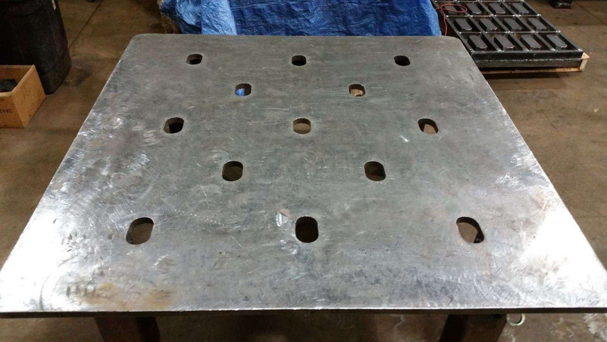 Steel Plate - Before