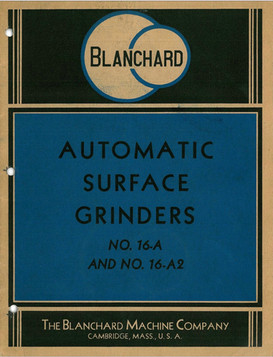 Blanchard No. 16-A and No. 16-A2