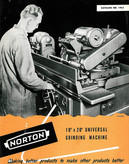 Norton Universal Grinding Machine