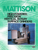 Mattison Vertical Rotary Grinders