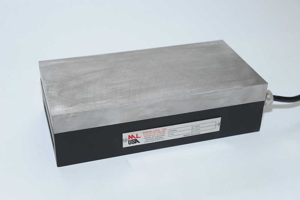 Magna-Lock USA HL Model Electromagnetic Chuck