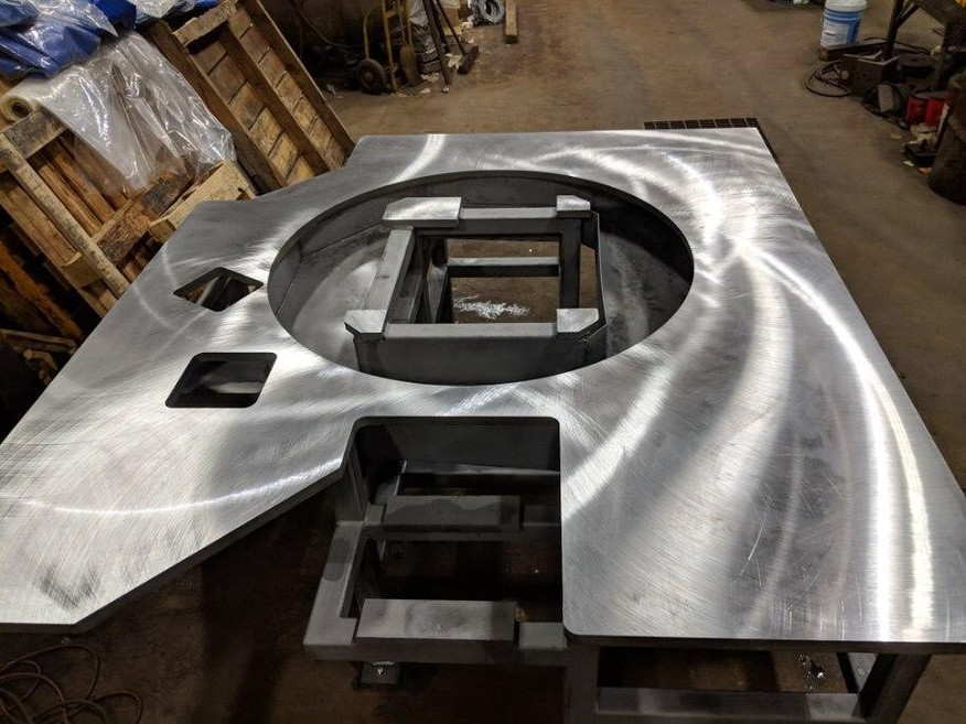 Large Fabricated Part