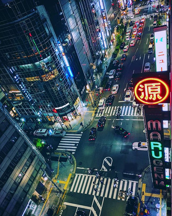 TOKYO Night Town_#tokyo #japan #photogra