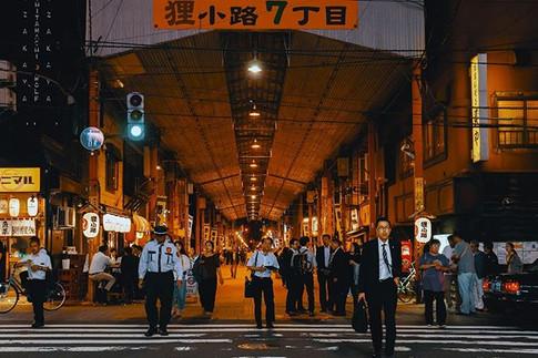 TanukiKoji PM11_00_#Hokkaidonight #Sappo