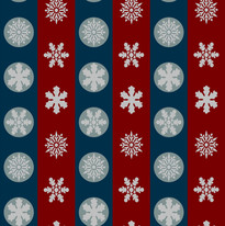 Snowflakes in Blue and Red Stripes.jpg