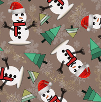 Happy Snowman in Taupe.jpg