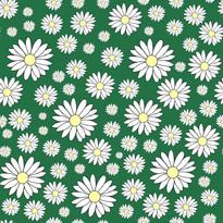 Daisy in earthly green.jpg
