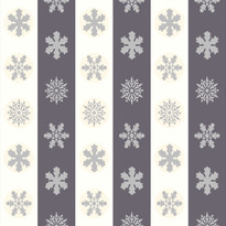 Snowflakes in Off White and Grey Stripes.jpg