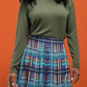 Modern Tartan skirt