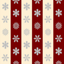 Snowflakes in Cream and Red Stripes.jpg