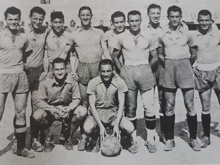 IL CAMPO LELLA E IL CALCIO DEL 1945