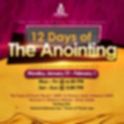 Tower of Prayer 12 Days of The Anointing