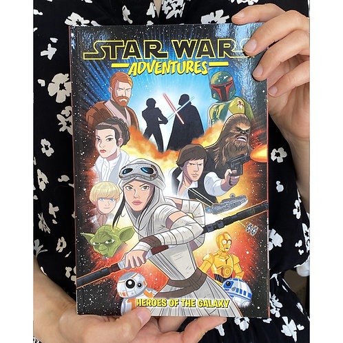 Star Wars Adventures Heroes of the galaxy