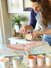 Dirty Paint Pour