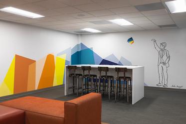 Corporate Mural, San Diego, CA