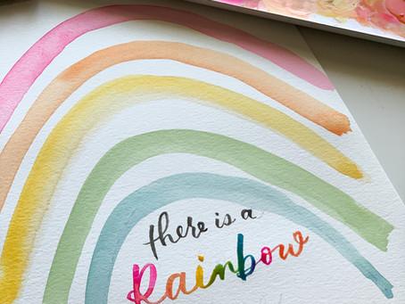 Watercolor Lettering!!!