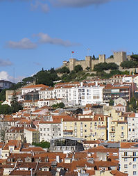 Vue de la ville de lisbonne