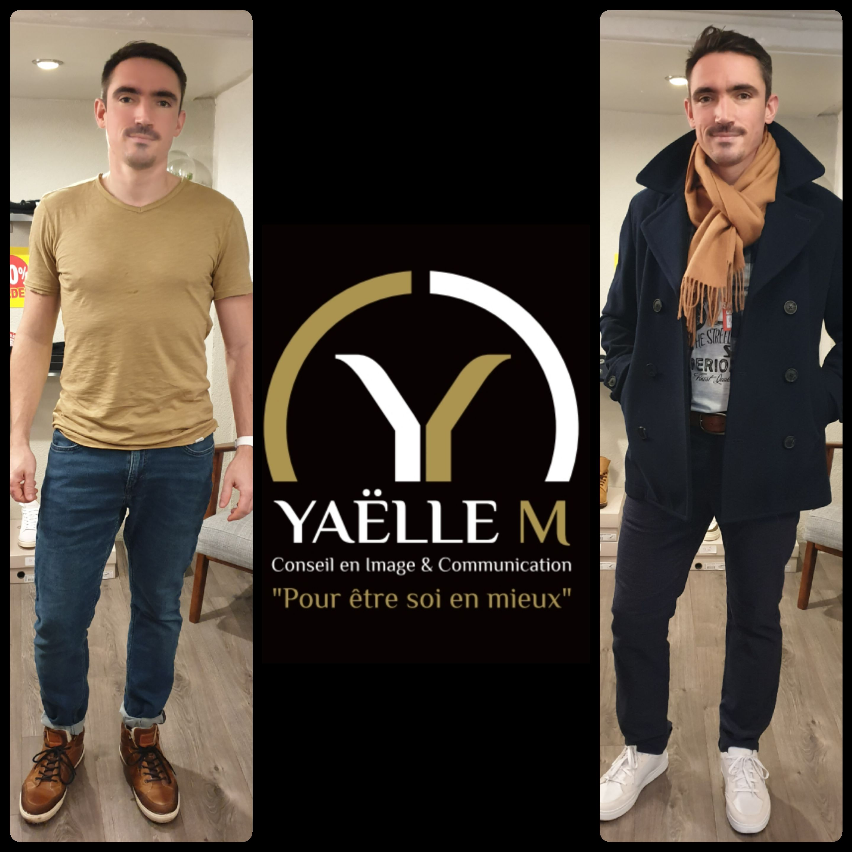Conseil en image, relooking homme Yaëlle M Strasbourg