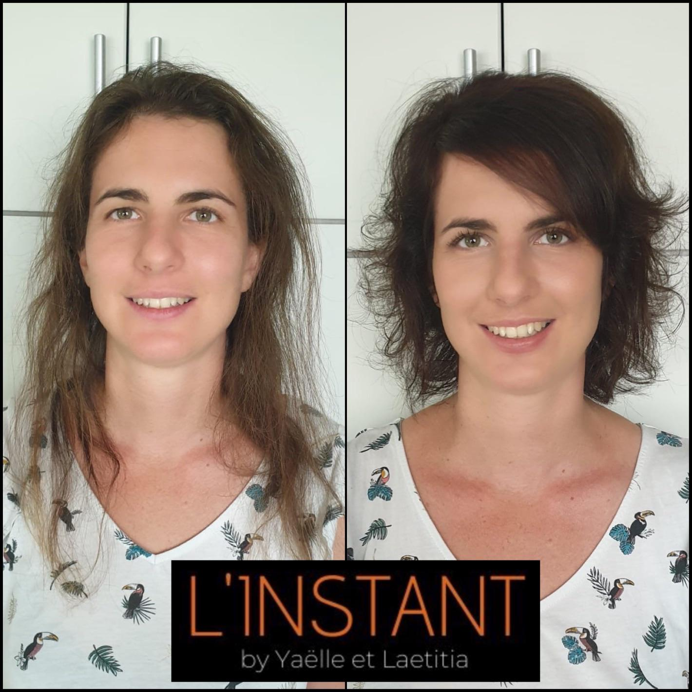 Relooking coiffure et maquillage à domicile