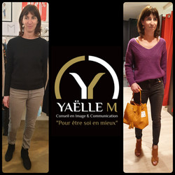 Yaëlle M accompagnement shopping Strasbourg