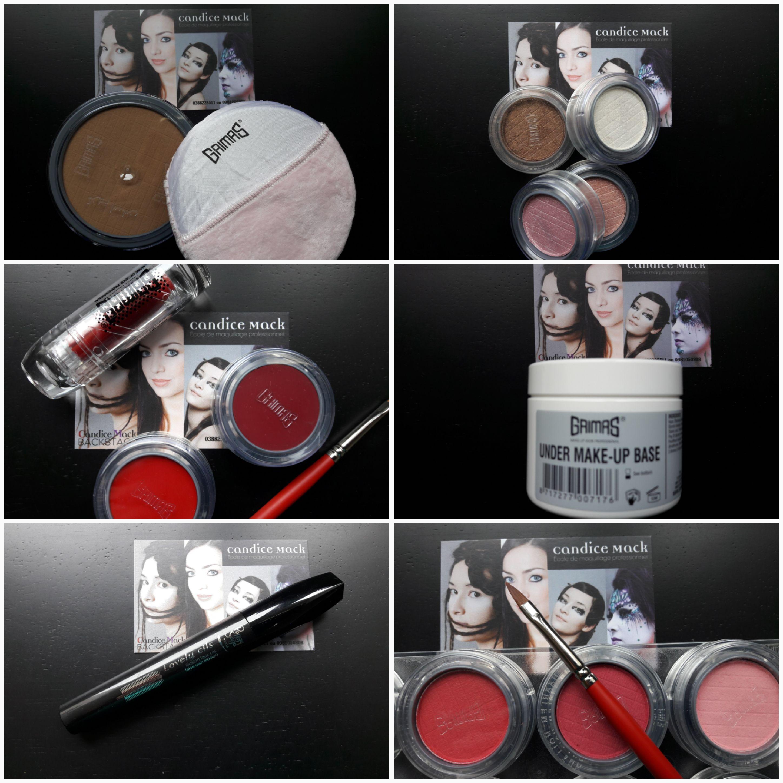 Maquillage pro Candice Mack