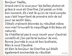 Yaëlle M Conseil en Image / témoignage claudine