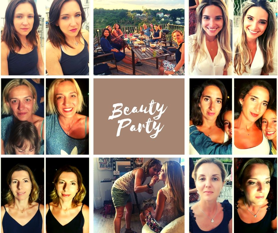 Beauty party Yaëlle M Metz
