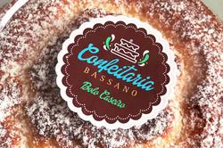 Logotipo Confeitaria Bassano