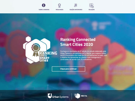 Plataforma Digital do Ranking Connected Smart Cities 2020