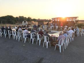 EZKOOP met with members to discuss upcoming harvest