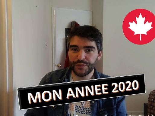 Mon année 2020