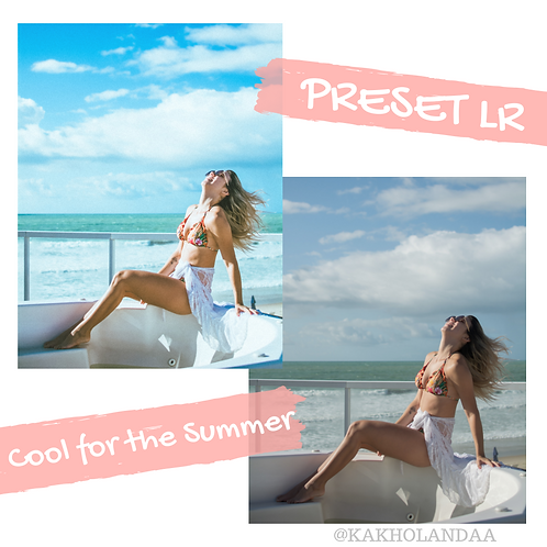 PRESET COOL FOR THE SUMMER