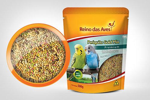 PERIQUITO GOLD MIX- REINO DAS AVES 500g