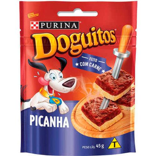Petisco Nestlé Purina Doguitos Picanha para Cães